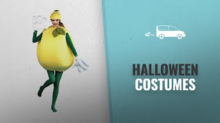 Peter Alan Men Halloween Costumes [2018]: Lemon Adult Costume, Standard One-Size, Yellow