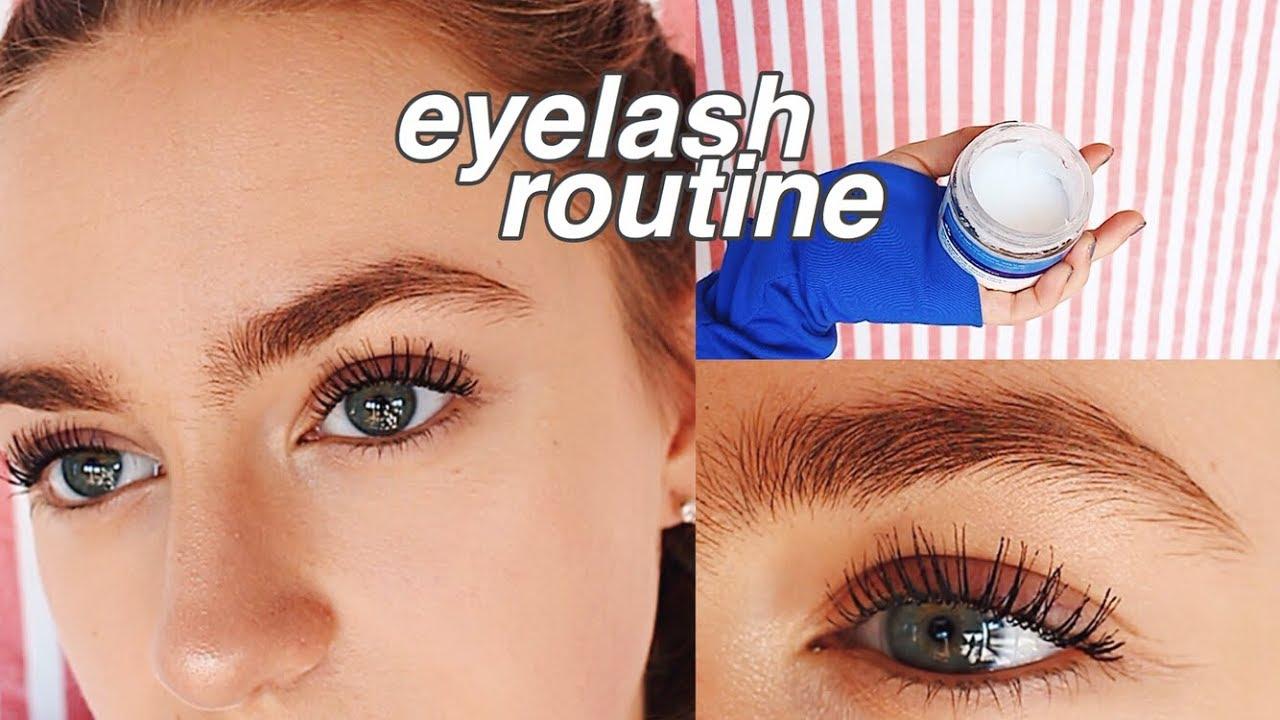 Eyelash/Mascara Routine!! | How To Get Long & Curly Lashes ...