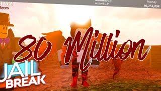80 MILLION - Roblox Jailbreak | Buddelbubi
