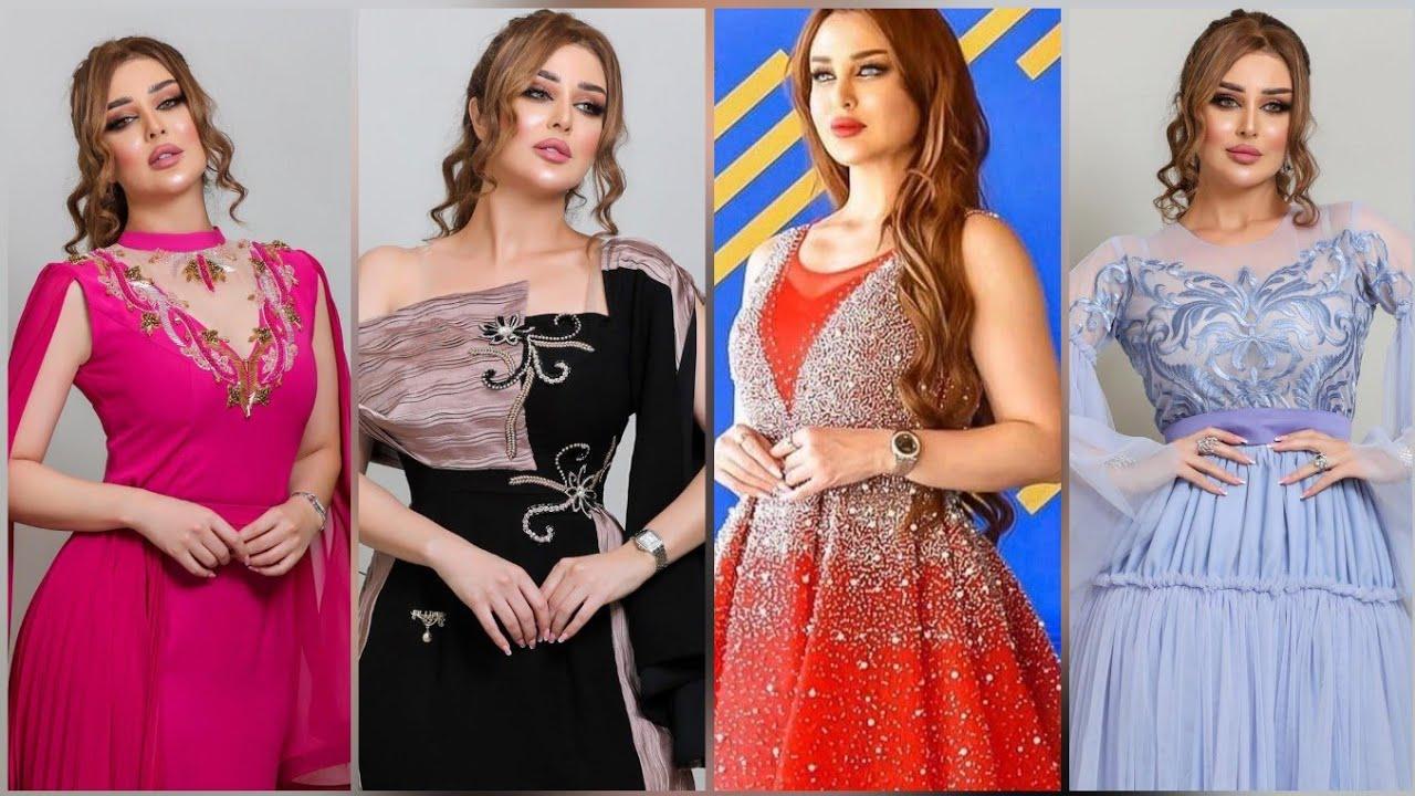 فساتين سهرة طويلة   احدث الموديلات  فساتين تستحق المشاهدة  ج101💝 Evening Dresses  Party wear Dress