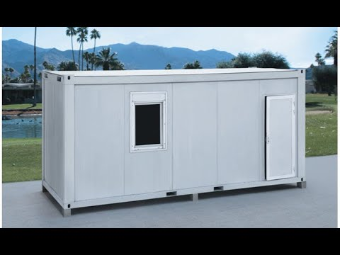 low cost duplex mobile military pre-made living 20ft prefabricated house container