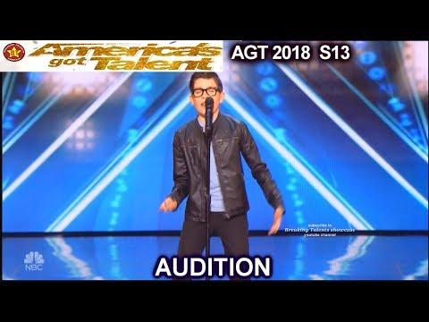 """Angel Garcia 12 yo  """"El Triste"""" FULL Audition Divided Judges  America's Got Talent 2018 Audition AGT"""