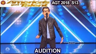 "angel garcia 12 yo ""el triste"" full audition divided judges americas got talent 2018 audition agt"