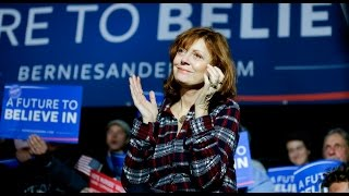 WTF: Susan Sarandon on Bernie Sanders & the Inevitable Revolution