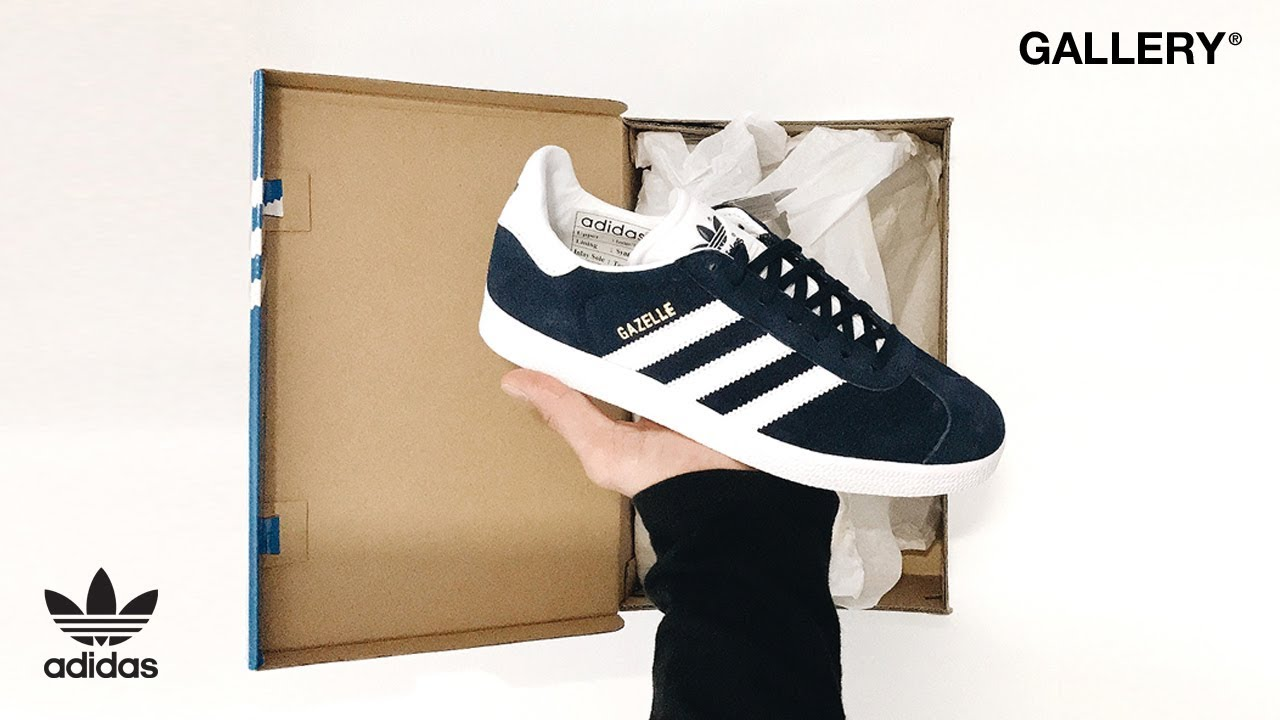 the latest 6cfa5 e02b8 IN HAND LOOK – ADIDAS ORIGINALS WOMENS GAZELLE PERF. GALLERY