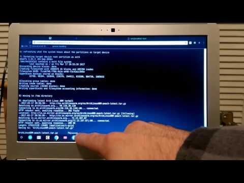 Arch Linux ARM Easy Install Script for your ARM Chromebook (natively and on removable media)