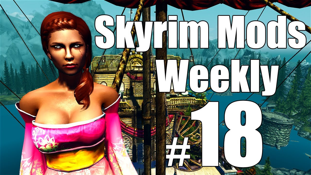 Skyrim Mods - Week #18: Asteria, UFO, Master Time and Space, Dovahkiin  Relaxes