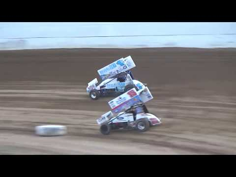 Grays Harbor Raceway, September 2, 2019, World of Outlaws Heat Races 1 and 2