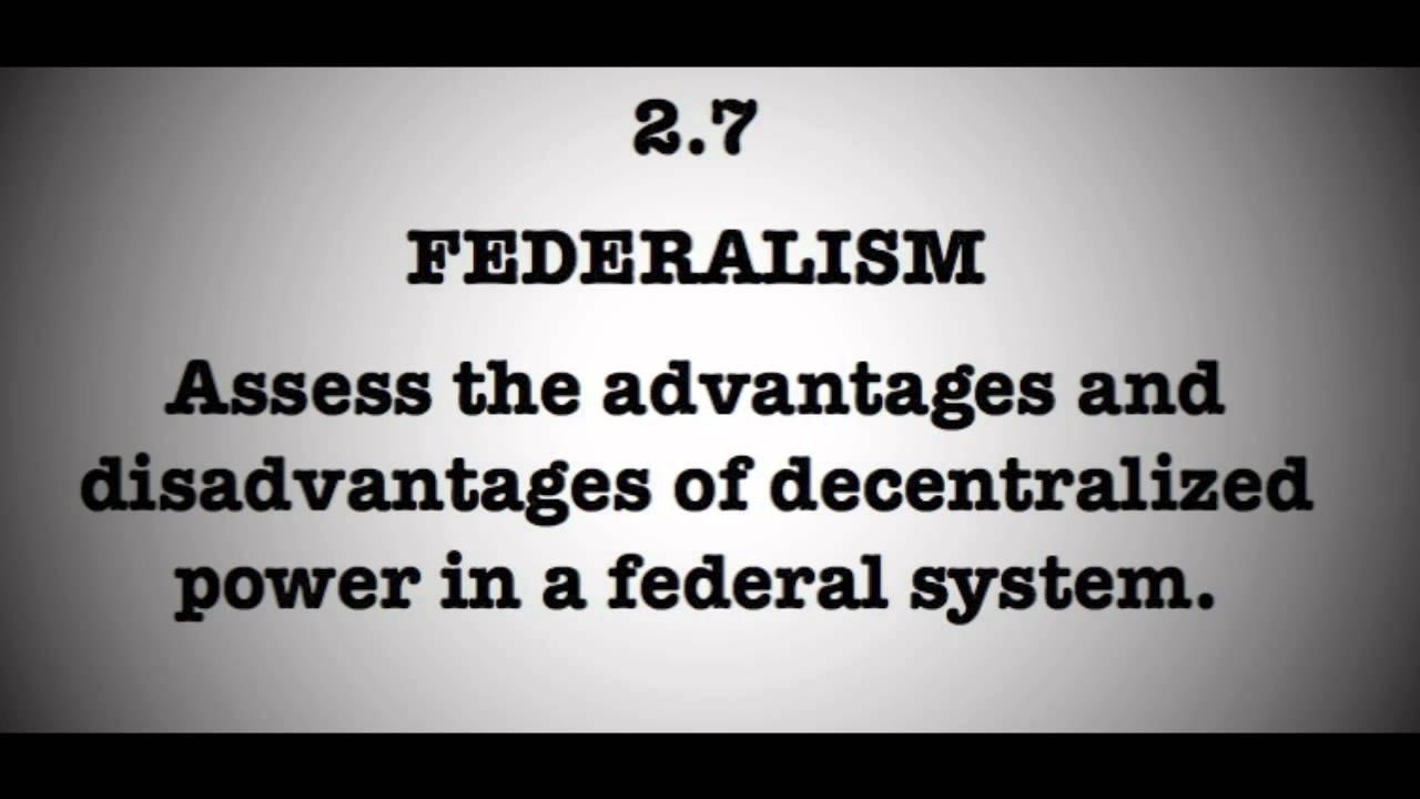 demerits of decentralisation