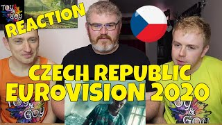 CZECH REPUBLIC EUROVISION 2020 REACTION: Benny Cristo - Kemama