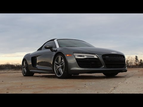 '14 Audi R8 V10 Spyder Review!   The Best Exotic Daily Driver?