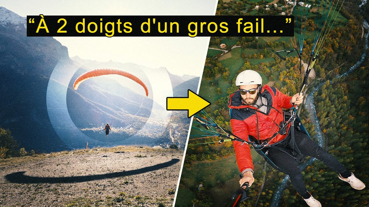 ON VOLE EN PARAPENTE ! (enfin Paul à moitié) 🪂