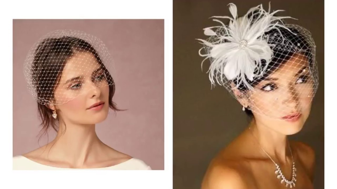 wedding hats for short hair