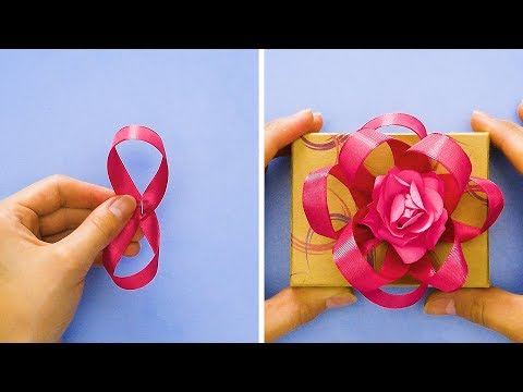 25 EASY WAYS TO WRAP A GIFT