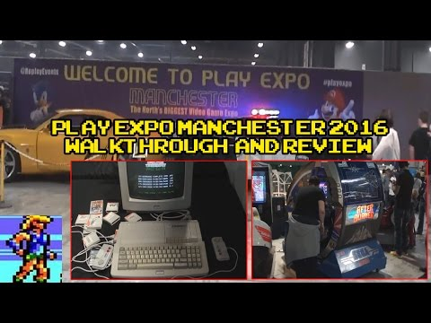 Play Expo Manchester 2016 - Walkaround & Review