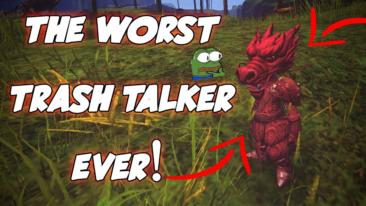 GW2 - Exposing & Calling Out The Biggest Trash Talker EVER (FASTCAR)