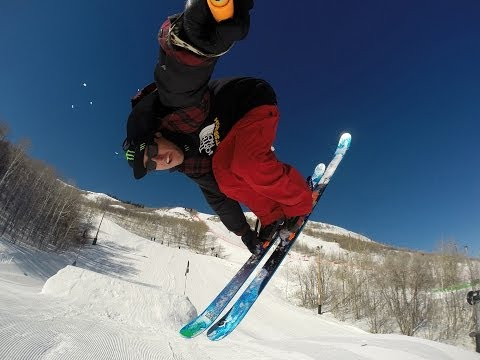 Tom Wallisch - Open season at Park City Mountain Resort
