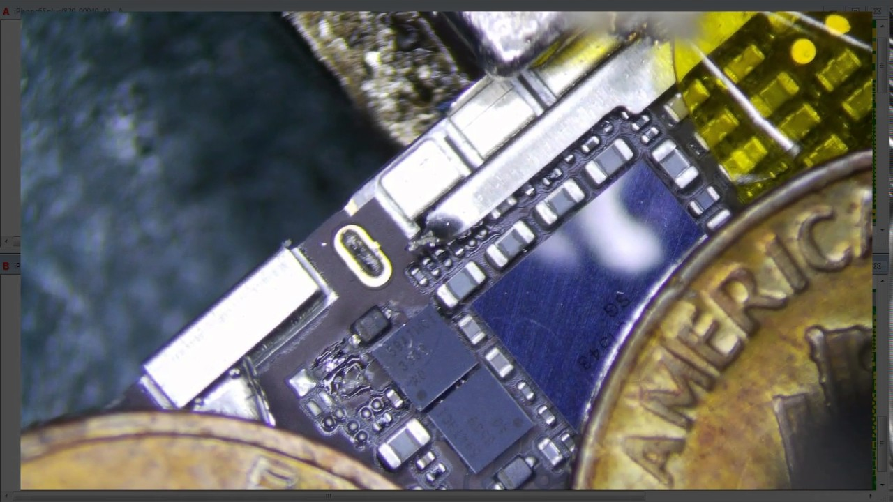 official photos 56d9d 7c6fe iPhone 6S Plus Diagnosing and Repairing a Short on VCC Main (Blown  Backlight System)