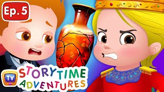 The King's Vases - Storytime Adventures Ep. 5 - ChuChu TV