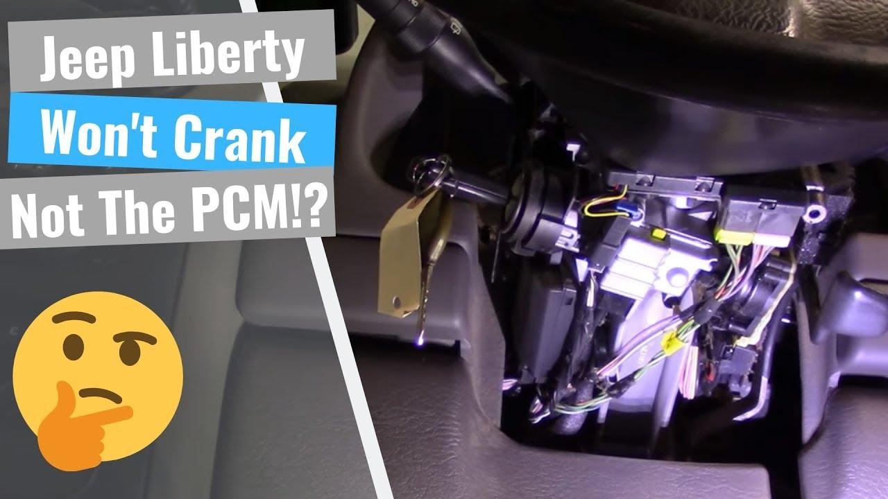 Jeep Liberty No Start No Crank Youtube