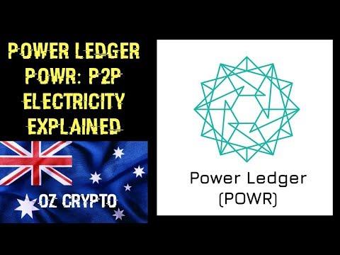 Power Ledger POWR: P2P Electricity Explained