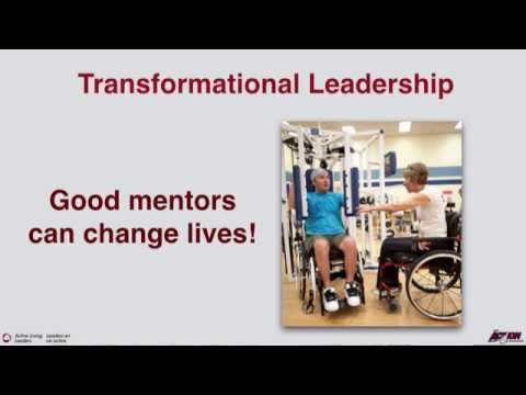 Active Living Leaders - Transformational Leadership