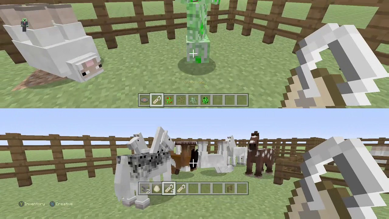 Image of: Mobs Easy How Toupside Down Animals In Minecraft Youtube Easy How Toupside Down Animals In Minecraft Youtube