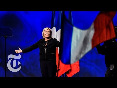 Marine Le Pen Speaks To Supporters | The New York Times
