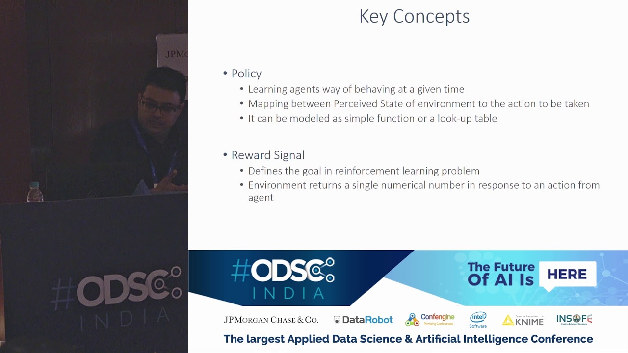 ODSC India 2018 - Introduction to reinforcement learning using