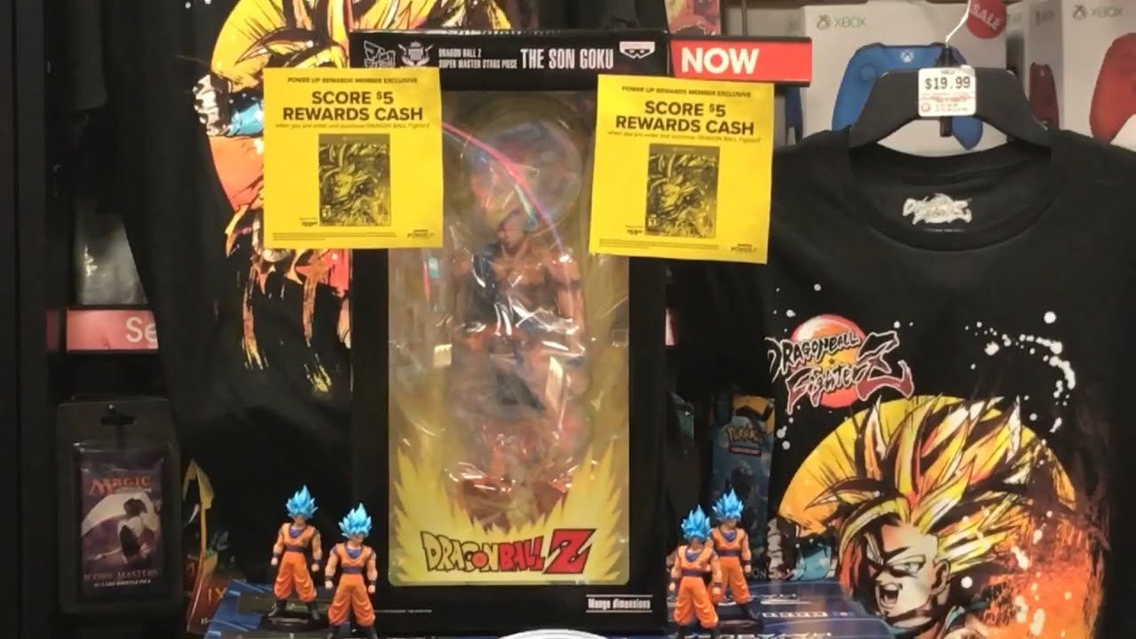 c9901fa8 New Dragonball Z Super Toys Actionfigures HotTopic Gamestop Spencers ...