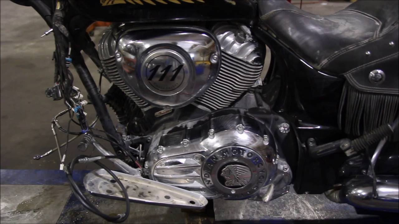 2014 Indian Chieftain Bagger Used Parts Youtube