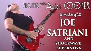 Joe Satriani –Shockwave Supernova on Nights with Alice Cooper's Behind the Interview!