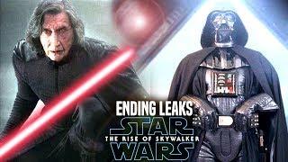 The Rise Of Skywalker HUGE Ending Leaks! WARNING (Star Wars Episode 9)
