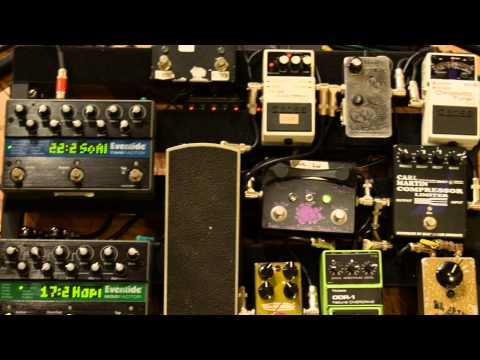 Rick Purcell, Sheryl Crow's Guitar Tech: A typical day with Sheryl's gear