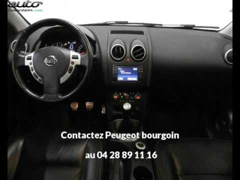 nissan qashqai occasion visible bourgoin jallieu pr sent e par peugeot bourgoin youtube. Black Bedroom Furniture Sets. Home Design Ideas