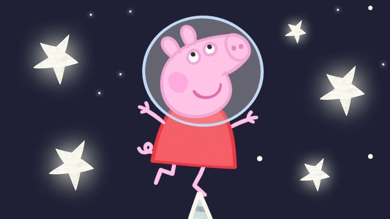 Peppa Pig Official Channel   Up in Space with Peppa Pig!