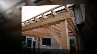 Building A Deck With A Pergola