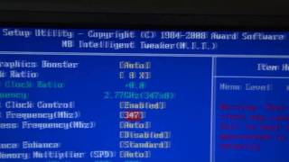 How to Overclock a CPU in the BIOS