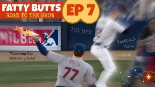 MLB 13 The Show - Fatty Butts - RTTS (Starting Pitcher) EP7 (AAA Playoffs)
