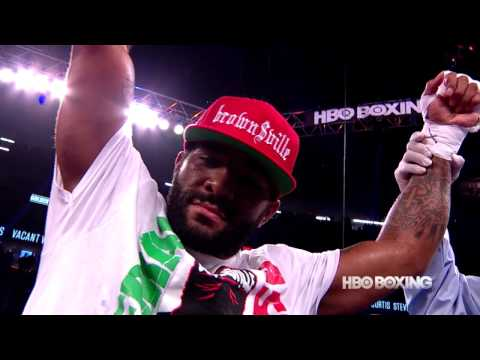 HBO Boxing News: Curtis Stevens Interview (HBO Boxing)