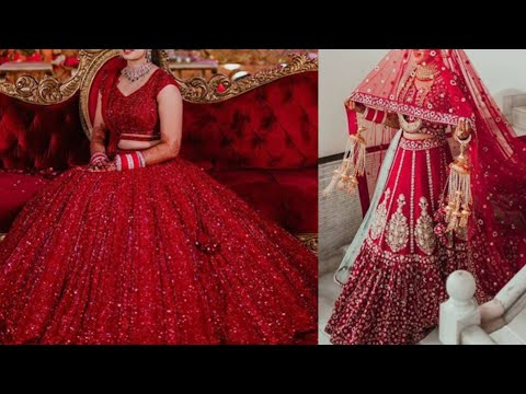 2020 latest modern bridal lehenga design ideas/indian bridal best outfit ideas