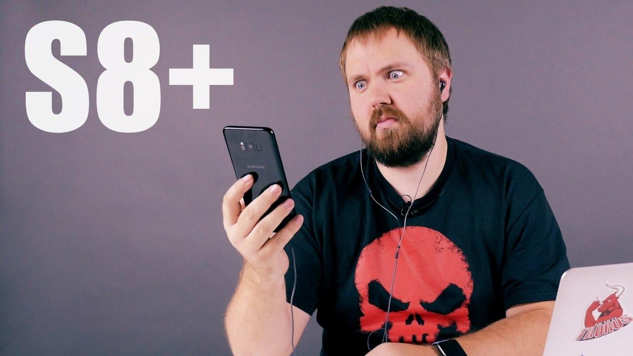 Распаковка Samsung Galaxy S8  с ништяками