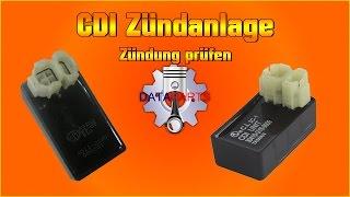 CDI Zündanlage Zündung prüfen