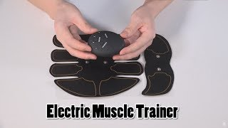 Electric Muscle Training Abdominal Arm Muscle Trainer