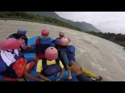 KSEBOA Kannur Family Tour 2016- River rafting in Beas River