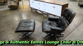 The595project - Eames Lounge Chair & Ottoman