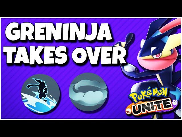 This is how you play Greninja! (Pokemon Unite)