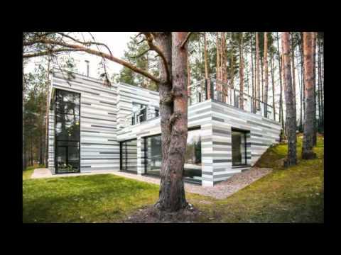 Проект дома с плоской крышей. Дизайн интерьера дома с плоской крышей.