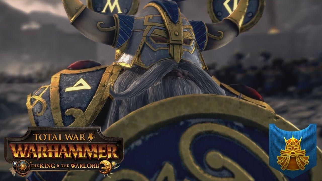 Brand-new Belegar Ironhammer, True King of the Eight Peaks - Total War  FW82