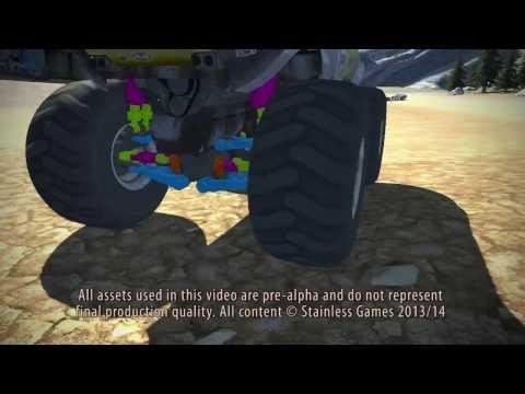 Carmageddon: Reincarnation dev video shows how suspension will work